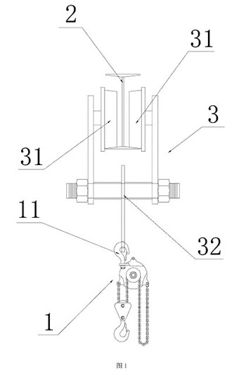 小车机械结构简图