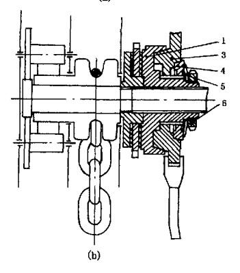 图1手动葫芦限载器结构